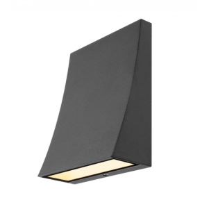 SLV Delwa Wide LED Wall Light In Anthracite 3000K