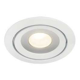 SLV Lighting 115801 Luzo LED Disk Downlight In White