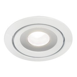 SLV Lighting 115811 Luzo LED Disk Downlight In White