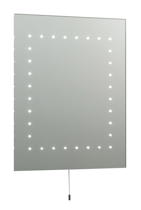 Saxby Lighting 13758 Mareh IP44 LED Mirror Light With Pull Cord