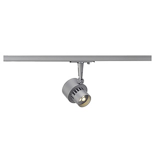 SLV Lighting 143884 LED Trackspot 3x 3w In Silver Grey