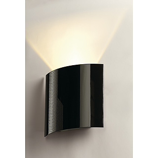 Slv lighting 151600 led sail 1 indoor led wall light in black slv lighting 151600 led sail 1 indoor led wall light in black mozeypictures Gallery