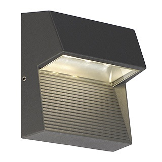 SLV Lighting 230872 LED Downunder Square IP44 Wall Light