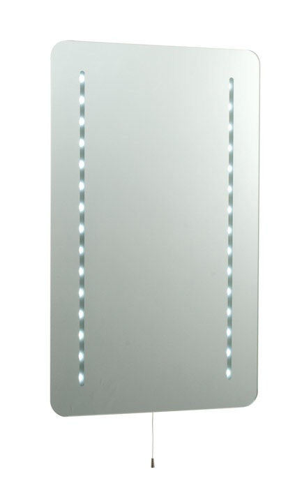 Saxby Lighting 39783 Ruben IP44 Bathroom LED Mirror Light