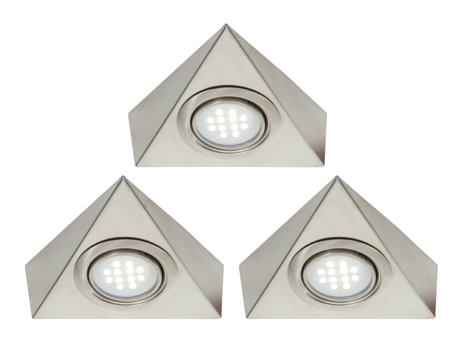Saxby Lighting 42853 Roxy Kit Of 3 Triangular LED Lights