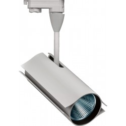 Emco 4TL6014 3 Circuit 25w LED Track Spotlight In Matt White