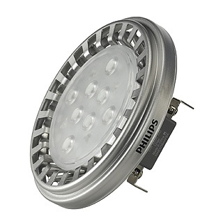 560034 10w Philips Master LED QRB111 Lamp (3000K)