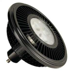 SLV 570662 15w Black ES111 LED Lamp 2700K 30 Degree