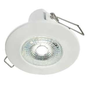 Collingwood H2 Lite Matt White IP65 LED Downlight Warm White