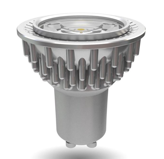 H5GU10D/3000K 5w Dimmable GU10 LED Lamp In Warm White
