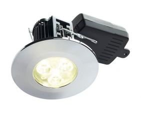 DL/C/F/NW - Chrome LED Downlight In Neutral White