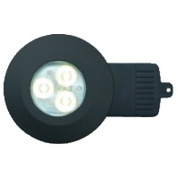 DL/MB/F/NW - Matt Black LED Downlight In Neutral White