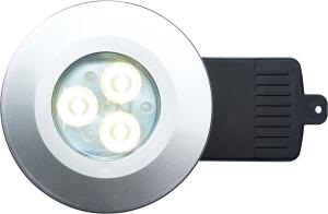 DL/S/F/NW/DIM Silver LED Downlight In Neutral White