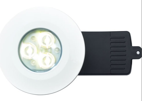 DL/W/F/NW - White LED Downlight In Neutral White