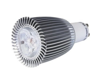 LL9WGU10DI/WW 9W Dimmable GU10 LED Lamp In Warm White